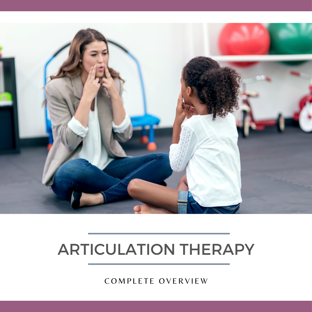 Articulation Therapy Guide